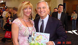"Gretchan with Jack Canfield co-author of ""Chicken Soup for the Soul: and other titles as well as motivational speaker."